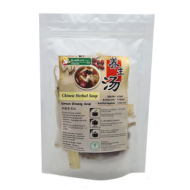 Chinese Herbal Soup - Korean Ginseng Soup 110gm