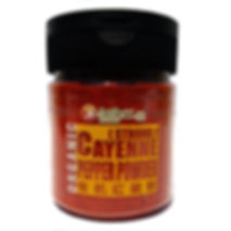 Organic Cayenne Pepper Powder (Strong) 130gm