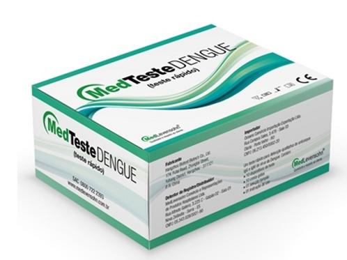 Teste Rápido Dengue (Anticorpos IgG e IgM) MedTeste c/25