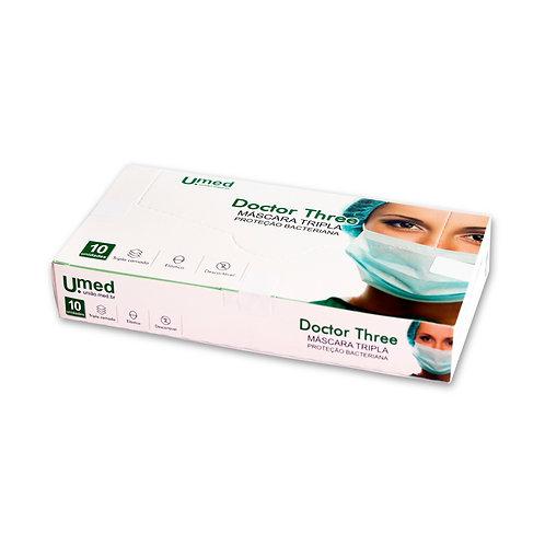 Máscara Cirúrgica Tripla Doctor Three - 50 caixas de 10 unidades