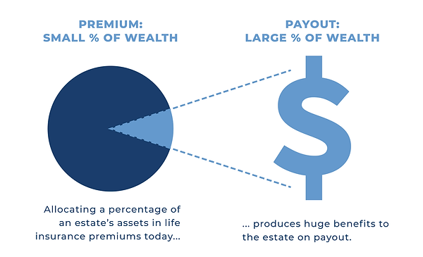 life insurance as percent of wealth v2-0