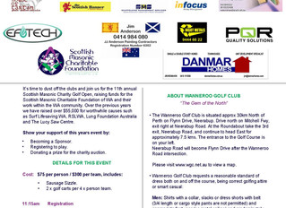 2020 Charity Golf Day