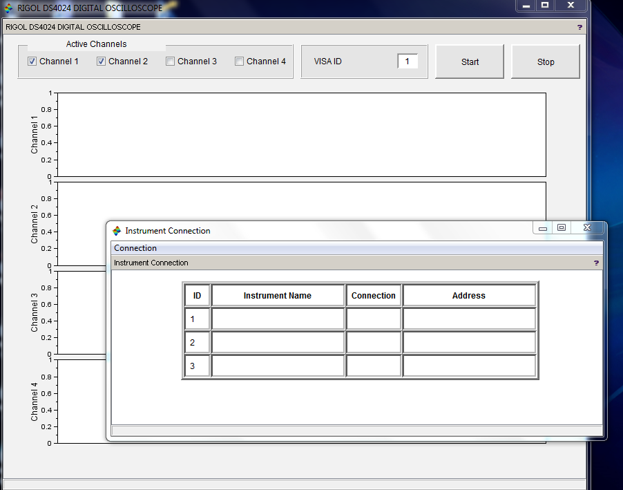 Connection GUI and Main GUI before connection