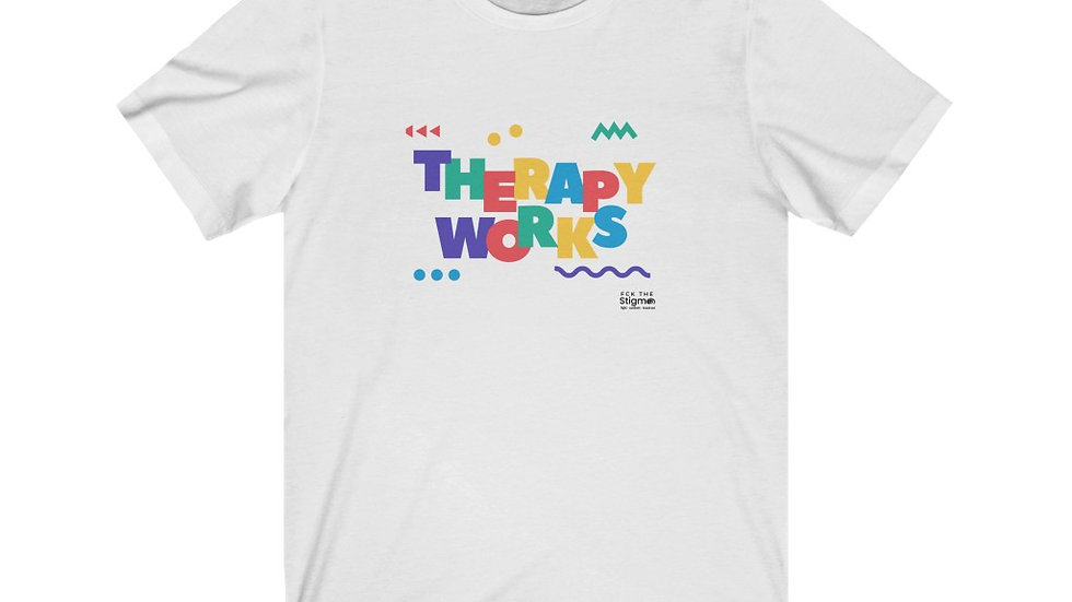 Therapy Works Unisex Short Sleeve Tee