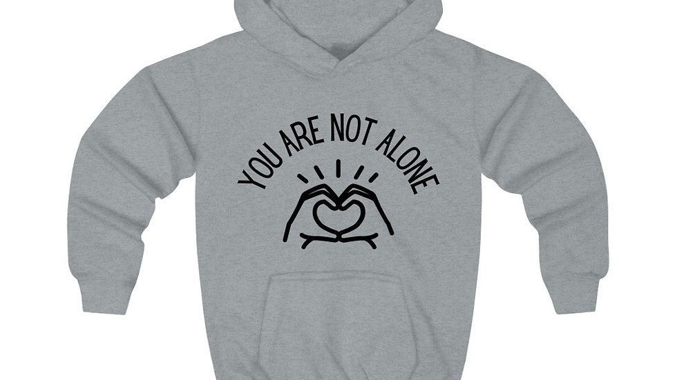 Kids You Are Not Alone Hoodie