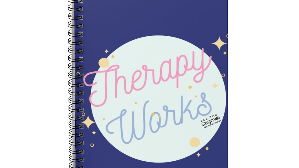 Spiral Notebook - Therapy Works Ruled Line