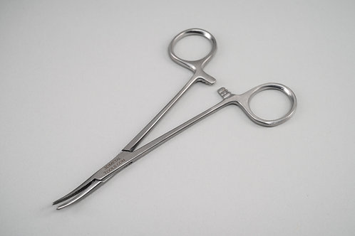 Curved Locking Forceps