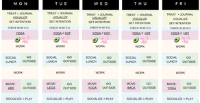 Quarantine Schedule: Staying Sane While Staying in