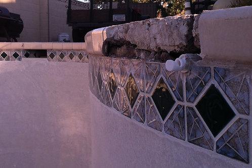 Broken Concrete Repair ( sq ft. price )