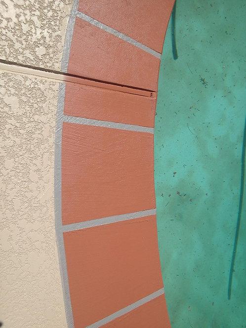 Decorative Acrylic Borders (900 lin ft or less)