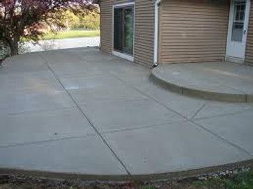 """Concrete  3.5"""" inch thick ( sq. ft. price )"""
