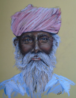 Portrait of a Sikh Gentleman