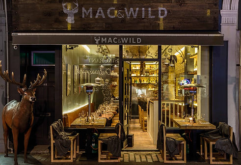 Mac and wild great titchfield street, Interior designers, Dtwo, Scotland, Deer statue, Stag statue