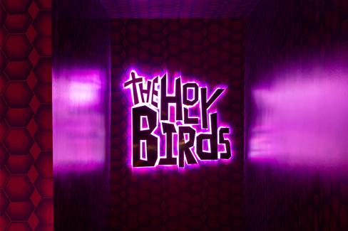 The Holy Birds Interior Design