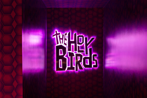 The Holy Birds Interior Design