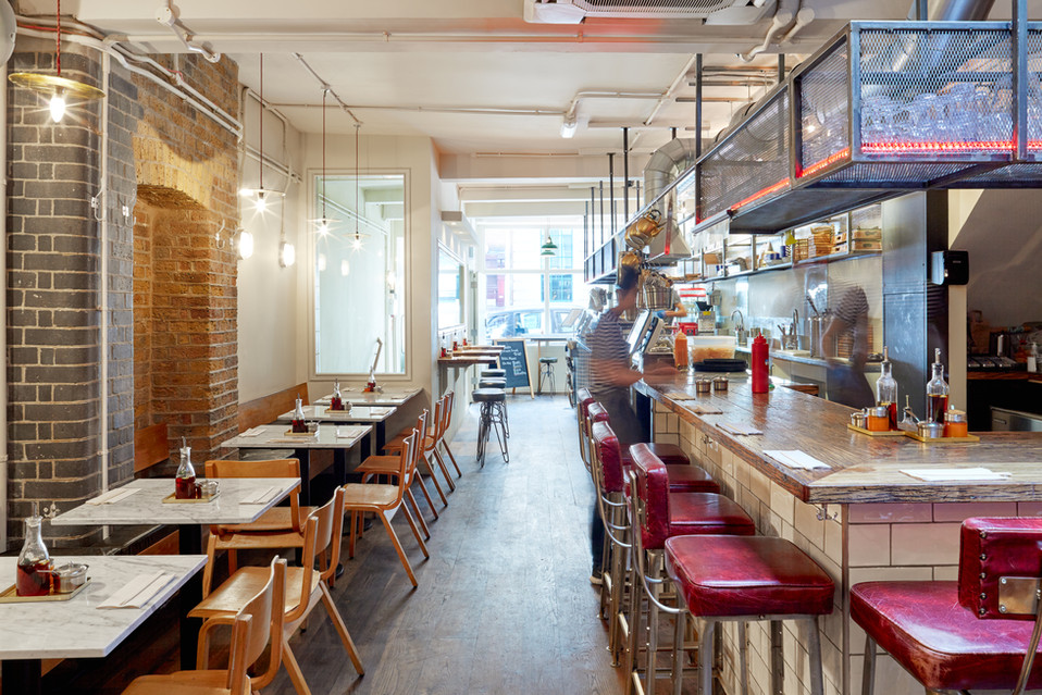 On the Bab Covent Garden - Interior design