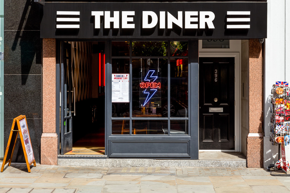 The Diner Strand Interior Design and Build