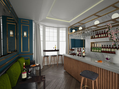 Sloane Square Hotel, Interior Design, 3D conept development, Design Proposal