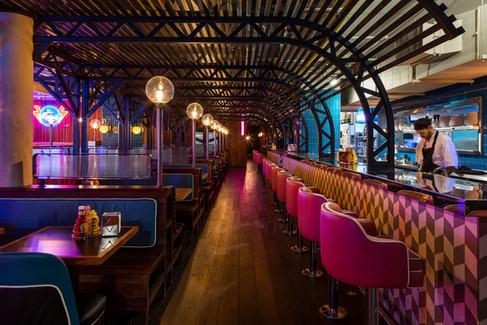The Diner Southampton - Interior design