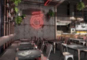 Rol Wala Dubai, CGI renders, Neon signage, Rola Wala, UAE