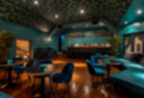 Interior Designers, Hanks Oxford, Teal, Bar design, Restaurant design