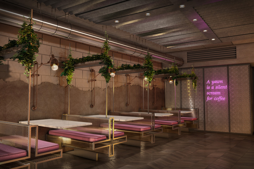 Wrights of London - Interior Design Concept