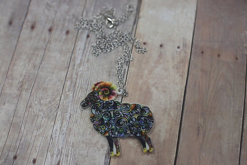 Sweet Ram Necklace-24""