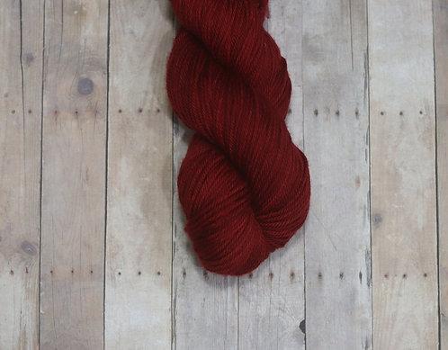 Red Nail Polish-XtraFine SW Merino-DK