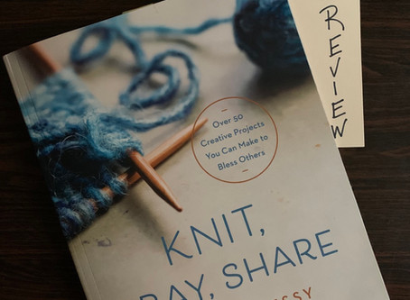 Knit, Pray Share....A Book Review