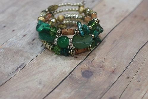 Verdant-Wrap Bracelet