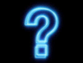 stock-footage-glowing-blue-question-mark