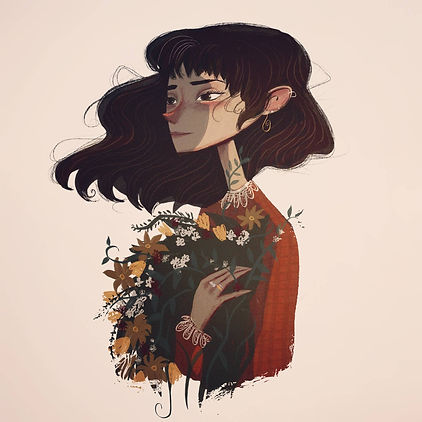 about chloe dominique artist illustrator