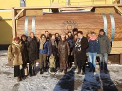 bezoek wodkafabriek
