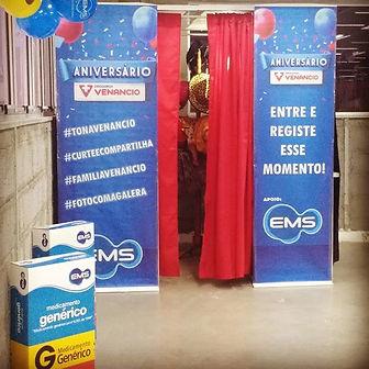 Aniversario Drogaria Venâncio_Apoio EMS_