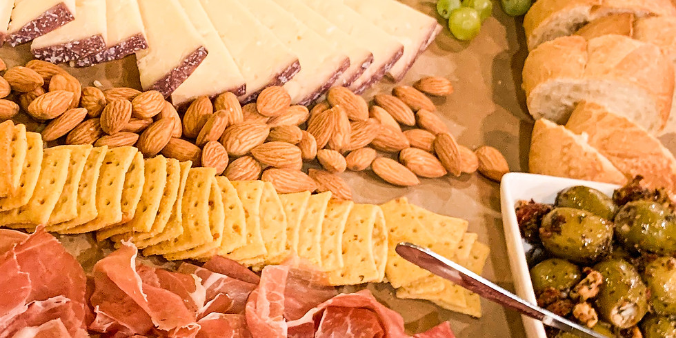 January 22 - Cheese and Meat Board and dessert Kit