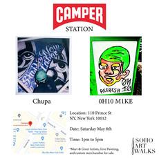 Camper station