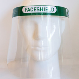 Face Shield Frontal-View