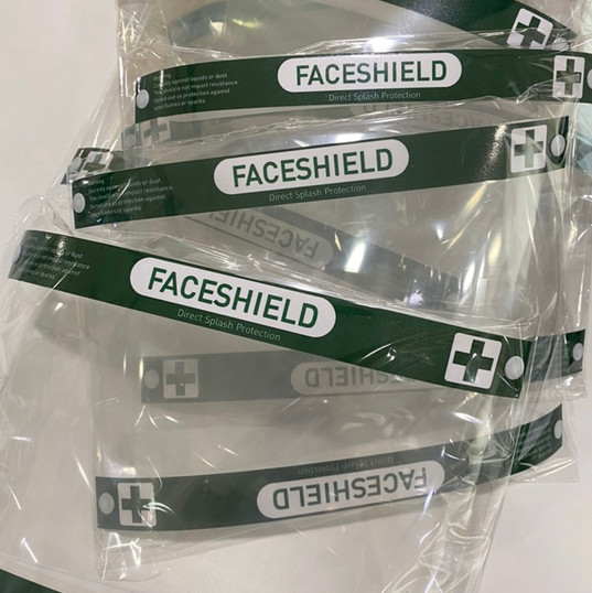 Face Shield Packaging