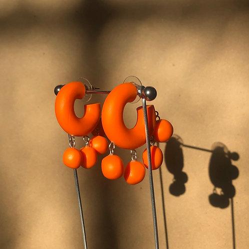 Ball Hoops//Orange