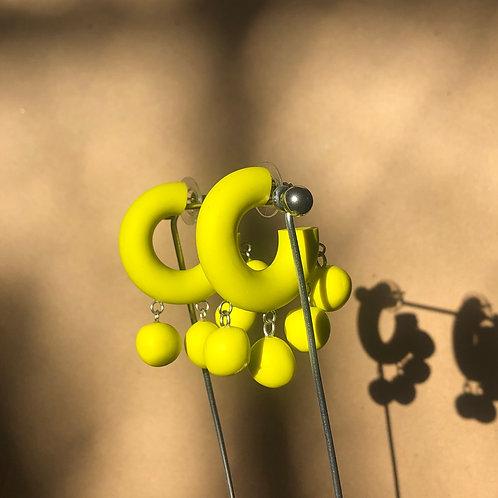 Ball Hoops//Hot Yellow