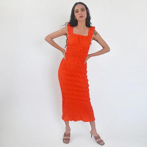 PC Midi Slip Dress