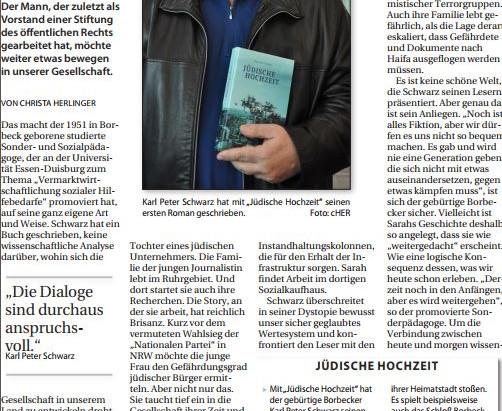Bericht in der Borbecker Zeitung