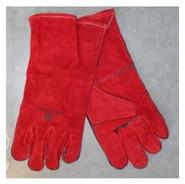rundslederen handschoen