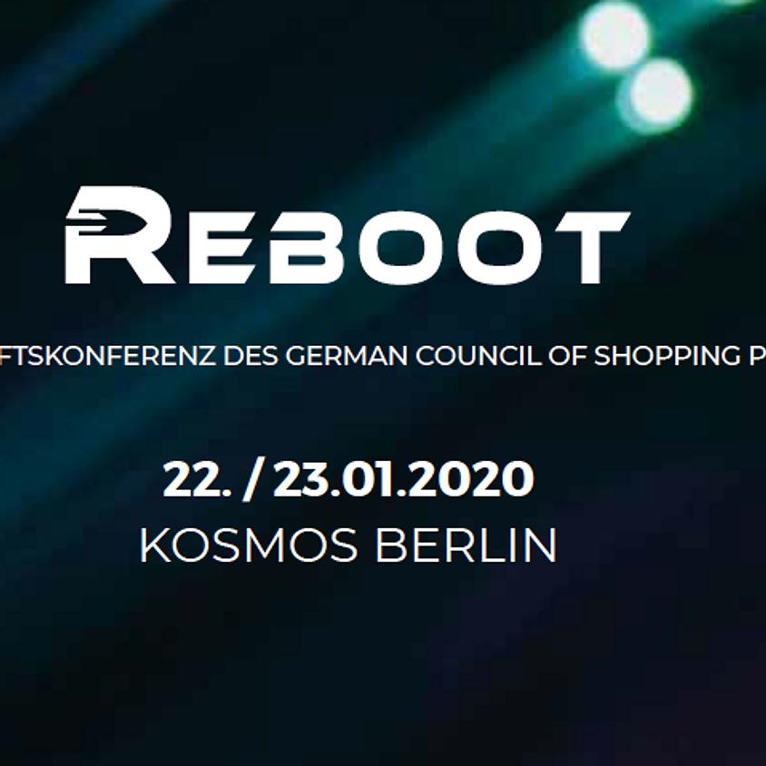 Eine Veranstaltung des GCSC  - REBOOT Berlin
