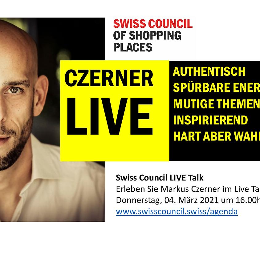 Czerner LIVE  I Teil 3 zum Thema GLÜCK