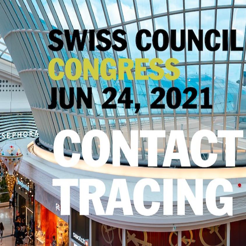 Contact Tracing für den 3.Swiss Council Congress
