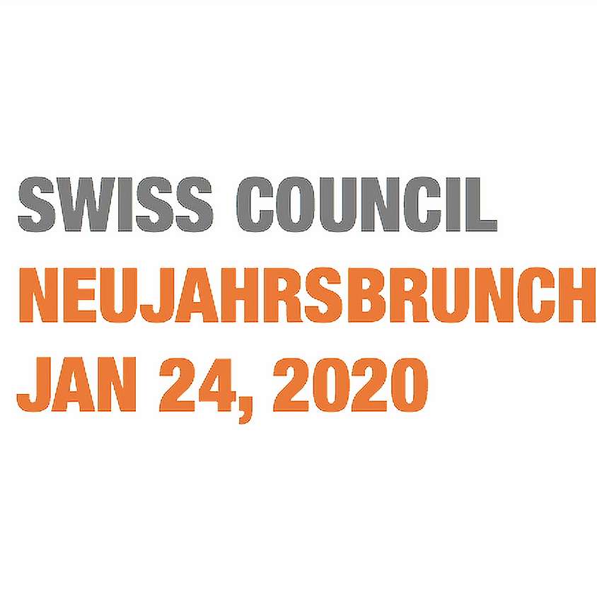 Swiss Council Neujahrsbrunch 2020 I ANMELDEFRIST ABGELAUFEN