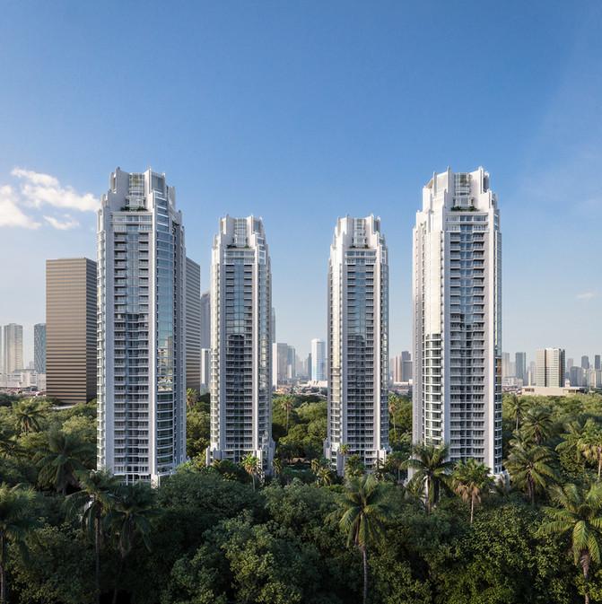 Four Seasons Residences - Jakarta / Reco RE & Bensley