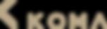 KOMA Logo 01 - Gold Transparent.png