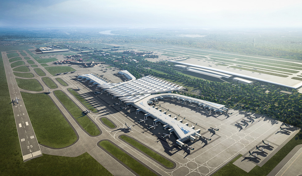 Airport Proposal - Indonesia / Grimshaw & team